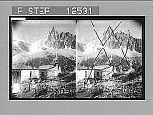 view Summit of Aiguille du Dru (12,517 feet) from Montanvert, Alps. 1845 Photonegative 1906 digital asset number 1