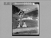 "view A wayside shrine--""In a temple not made with hands""--Tyrol. 1931 Photonegative digital asset: A wayside shrine--""In a temple not made with hands""--Tyrol. 1931 Photonegative 1907."