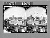 view St. Peter's and the Vatican--greatest of churches, greatest of palaces, Rome. 1970 Photonegative digital asset: St. Peter's and the Vatican--greatest of churches, greatest of palaces, Rome. 1970 Photonegative 1907.