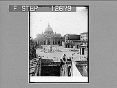 view St. Peter's and the Vatican--greatest of churches, greatest of palaces, Rome. 1970 Photonegative digital asset: St. Peter's and the Vatican--greatest of churches, greatest of palaces, Rome. 1970 Photonegative 1905.