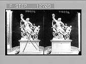 view Agony--the famous group of Laocoon, Vatican, Rome. Active no. 1982 : stereo photonegative digital asset: Agony--the famous group of Laocoon, Vatican, Rome. Active no. 1982 : stereo photonegative, 1907.