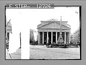 """view """"Sanctuary and home of Art and Piety--Pantheon, Pride of Rome."""" 1987 Photonegative digital asset: """"Sanctuary and home of Art and Piety--Pantheon, Pride of Rome."""" 1987 Photonegative 1896."""