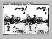 """view """"Calle Real""""--the Main Highway--San Fernando, Philippine Islands. photonegative digital asset: """"Calle Real""""--the Main Highway--San Fernando, Philippine Islands. photonegative 1899."""