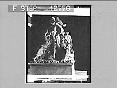 view The Farnese Bull, grand National Museum, Naples. [Active no. 2015 : half-stereo photonegative] digital asset: The Farnese Bull, grand National Museum, Naples. [Active no. 2015 : half-stereo photonegative]. 1905.