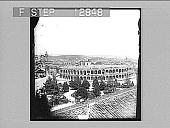 view Roman Amphitheatre, Verona, Italy--erected A.D. 260--second only to the Colosseum. Active no. 2055 : photonegative digital asset: Roman Amphitheatre, Verona, Italy--erected A.D. 260--second only to the Colosseum. Active no. 2055 : photonegative.