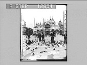 """view San Marco, Venice--""""An oriental poem in marble, mosaic and gold."""" Active no. 2058 [photonegative] digital asset: San Marco, Venice--""""An oriental poem in marble, mosaic and gold."""" Active no. 2058 [photonegative], 1898."""