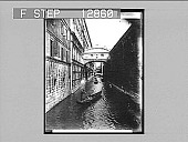 view Bridge of Sighs, Venice, Italy--between a palace and a prison. 2060 Photonegative 1898 digital asset number 1
