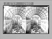 view Grand Colonnade, Naples. [Active no. 2115 : stereo photonegative,] 1907 digital asset number 1