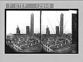 """view The """"Stooping Giant of Bologna,"""" Dante--leaning feudal Towers (1109). 2151 Photonegative digital asset: The """"Stooping Giant of Bologna,"""" Dante--leaning feudal Towers (1109). 2151 Photonegative 1905."""