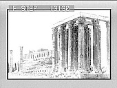 view The Acropolis, the glory of ancient Athens. Caption no. 2372 : photonegative digital asset: The Acropolis, the glory of ancient Athens. Caption no. 2372 : photonegative.