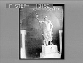 view The colossal Poseidon (Neptune), from Melos, National Museum, Athens. [Active no. 2393 : non-stereo photonegative,] digital asset: The colossal Poseidon (Neptune), from Melos, National Museum, Athens. [Active no. 2393 : non-stereo photonegative,] 1907.