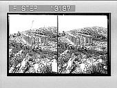 view Apollo Temple of Bassae (V Cent. B.C.)--S.W.--in wild mountain solitude. [Active no. 2438 : stereo photonegative,] digital asset: Apollo Temple of Bassae (V Cent. B.C.)--S.W.--in wild mountain solitude. [Active no. 2438 : stereo photonegative,] 1905.
