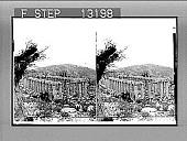 view Apollo Temple of Bassae (V Cent. B.C.)--S.W.--in wild mountain solitude. 2438 : stereo photonegative digital asset: Apollo Temple of Bassae (V Cent. B.C.)--S.W.--in wild mountain solitude. 2438 : stereo photonegative, 1903.