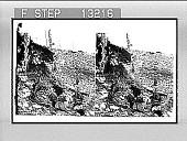view Ascending sacred Mount Parnassos (south slope)--crude shepherd hut way station. 2452 : photonegative digital asset: Ascending sacred Mount Parnassos (south slope)--crude shepherd hut way station. 2452 : photonegative, 1903.