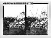 view Market scene, Algiers. [Active no. 2507 : stereo photonegative,] digital asset: Market scene, Algiers. [Active no. 2507 : stereo photonegative,] 1896.