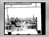 view Cairo, looking S.W. across city to Pyramids that furnished stone for many of its buildings. [Active no. 2521 : photonegative,] digital asset: Cairo, looking S.W. across city to Pyramids that furnished stone for many of its buildings. [Active no. 2521 : photonegative,] 1897.