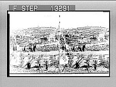 view Garden of Gethsemane and Mount of Olives, from the eastern wall, Jerusalem. [Active no. 3096 : stereo photonegative.] digital asset: Garden of Gethsemane and Mount of Olives, from the eastern wall, Jerusalem. [Active no. 3096 : stereo photonegative.]
