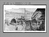 """view Ancient """"Fountain of the Virgin""""--where Mary came for water for her household--Nazareth. 3151 Photonegative digital asset: Ancient """"Fountain of the Virgin""""--where Mary came for water for her household--Nazareth. 3151 Photonegative."""
