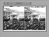 view President McKinley delivering his inaugural address, March 4, 1897, Washington. [Active no. 4865 : stereo photonegative,] digital asset: President McKinley delivering his inaugural address, March 4, 1897, Washington. [Active no. 4865 : stereo photonegative,] 1897.