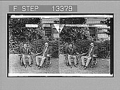 view President Roosevelt and Senator Fairbanks at Sagamore Hill, Oyster Bay, N.Y. [Active no. 5001 : stereo photonegative,] digital asset: President Roosevelt and Senator Fairbanks at Sagamore Hill, Oyster Bay, N.Y. [Active no. 5001 : stereo photonegative,] 1904.