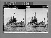 "view The Battleship ""Iowa""--""Fighting Bob"" Evans, Captain. Active no. 5164 : stereo photonegative.] digital asset: The Battleship ""Iowa""--""Fighting Bob"" Evans, Captain. Active no. 5164 : stereo photonegative.]"