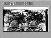 view The beginning of travel by steam--the teakettle motor and a 1904 locomotive. [Active no. 5851 : stereo photonegative.] digital asset: The beginning of travel by steam--the teakettle motor and a 1904 locomotive. [Active no. 5851 : stereo photonegative.] 1903.
