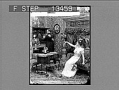 view Hands! Hands!! What does she mean? [Active no. 7258 : half-stereo photonegative,] digital asset: Hands! Hands!! What does she mean? [Active no. 7258 : half-stereo photonegative,] 1900.