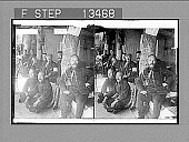 view Professor Ricalton with Japanese officers of 11th Division, at foot of Takushan, Port Arthur. Active no. 7593 : stereo photonegative.] digital asset: Professor Ricalton with Japanese officers of 11th Division, at foot of Takushan, Port Arthur. Active no. 7593 : stereo photonegative.]