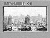 view From Kohn Building, south to the once great business center of destroyed San Francisco. 8220 Photonegative digital asset: From Kohn Building, south to the once great business center of destroyed San Francisco. 8220 Photonegative 1906.