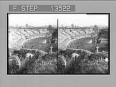view Roman amphitheatre of Agustus's time, with part of modern Syracuse beyond at S.E. 8586 Photonegative digital asset: Roman amphitheatre of Agustus's time, with part of modern Syracuse beyond at S.E. 8586 Photonegative 1905.
