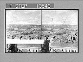view Mount Etna smoking above its cloak of snow, N. from St. Nicolai Church tower, Catania. 8601 Photonegative 1905 digital asset number 1