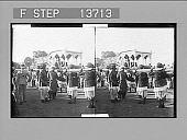 view [Parade in India. Active no. 8696 : stereo photonegative,] digital asset: [Parade in India. Active no. 8696 : stereo photonegative,] 1906.