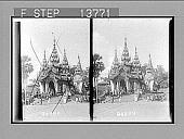 view Entrance to Shiva Dagon Pagoda. 8781 Photonegative digital asset: Entrance to Shiva Dagon Pagoda. 8781 Photonegative 1906.