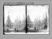 view [Pagoda in Burma.] 8785 Photonegative digital asset: [Pagoda in Burma.] 8785 Photonegative 1906.