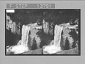 view [Waterfalls.] 8867 Photonegative 1905 digital asset number 1