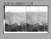 view Cuzco, once the richest city in America, S.E. from fort of the Inca kings, seized by Pizarro. 9268 photonegative digital asset: Cuzco, once the richest city in America, S.E. from fort of the Inca kings, seized by Pizarro. 9268 photonegative.