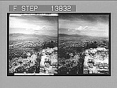 view Isthmus of Corinth, pathway of Greek armies--E.N.E. from Acropolis. 9307 Photonegative 1905 digital asset number 1