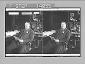 view William H. Taft at his desk, Washington, D.C. 10062 photonegative digital asset: William H. Taft at his desk, Washington, D.C. 10062 photonegative.
