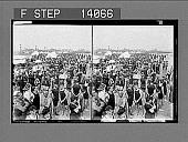 "view ""In the good old summer time,"" [sic] holiday crowds on beach, Coney Island, New York. [Active no. 10074 : stereoscopic photonegative,] digital asset: ""In the good old summer time,"" [sic] holiday crowds on beach, Coney Island, New York. [Active no. 10074 : stereoscopic photonegative,] 1907."