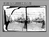 view A busy morning on Barrack St., in Perth, its capital. [Active no. 10230 : stereo photonegative,] 1906 digital asset number 1