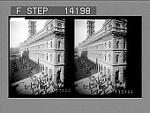 view The General Post Office, one of Sydney's finest municipal buildings. [Active no. 10268 : stereo photonegative,] 1908 digital asset number 1