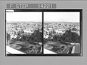 view Overlook Brisbane, southeast from the Observation Tower, Queensland. [Active no. 10286 : stereo photonegative,] digital asset: Overlook Brisbane, southeast from the Observation Tower, Queensland. [Active no. 10286 : stereo photonegative,] 1908.