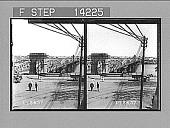 view Victoria Bridge over Brisbane River, Brisbane. 10290 photonegative 1908 digital asset number 1