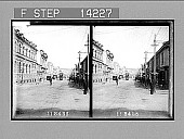 view Liverpool St., one of the principal thoroughfares of Hobart, the capital of Tasmania. 10292 Photonegative digital asset: Liverpool St., one of the principal thoroughfares of Hobart, the capital of Tasmania. 10292 Photonegative 1908.
