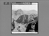 view Mount of Moses, where the Law was given to Israel's leader, Sinai Wilderness. 10806 Photonegative digital asset: Mount of Moses, where the Law was given to Israel's leader, Sinai Wilderness. 10806 Photonegative 1910.