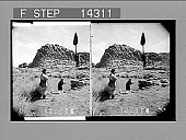 view Wayside spring on Horeb, near where Moses saw the burning rock; Sinai. [Active no. 10826 : stereo photonegative,] digital asset: Wayside spring on Horeb, near where Moses saw the burning rock; Sinai. [Active no. 10826 : stereo photonegative,] 1910.