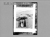 view A Bedouin camp in the mountains of the Abarim, highlands of Moab. No. 10898 : photonegative, 1910 digital asset number 1