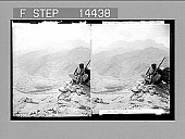 view The ground where the Hebrews fought the Amalekites; outlook S.E., Sinai Wilderness. 11373 Photonegative digital asset: The ground where the Hebrews fought the Amalekites; outlook S.E., Sinai Wilderness. 11373 Photonegative 1910.
