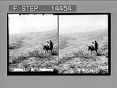 view From Ramoth Gilead, N.W. over Jordan Valley toward distant Carmel, Palestine. 11391 Photonegative digital asset: From Ramoth Gilead, N.W. over Jordan Valley toward distant Carmel, Palestine. 11391 Photonegative 1911.