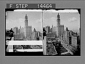 view Woolworth Building, tallest in the world, product of five and tent cent pieces. [Active no. 11403 : stereo photonegative] digital asset: Woolworth Building, tallest in the world, product of five and tent cent pieces. [Active no. 11403 : stereo photonegative].